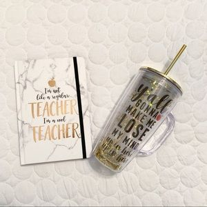 Other - Teacher Notebook & Tumbler Bundle